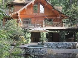 log house custom canadian log home nestled in the hea vrbo