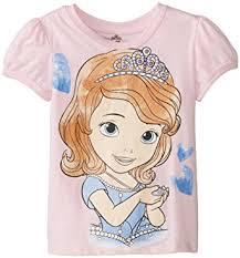 amazon disney girls u0027 sofia shirt clothing