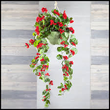 hanging flowers artificial hanging flowers outdoor artificial vines faux vines