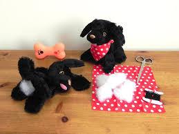 kids sewing kit kids craft kit stuff and sew a puppy kids