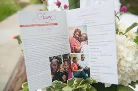 Magazine Wedding Programs Real Weddings Virginia Monica U0026 Sharod Blackbride Com