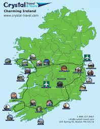 Dublin Ireland Map 7 Day Charming Ireland Self Drive