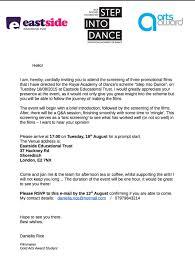 film screening u2013 invitation letter u2013 my golden film adventure