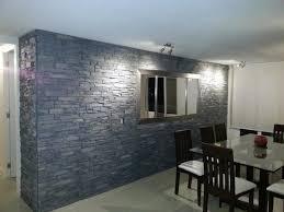 steinwand wohnzimmer montage 2 haus renovierung mit modernem innenarchitektur schönes steinwand