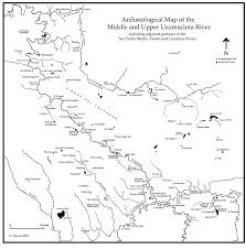 archaeological map of the río usumacinta region maya decipherment
