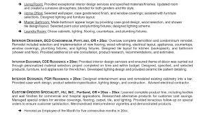 New Resume Pattern Furniture Designer Resume Resume For Your Job Application