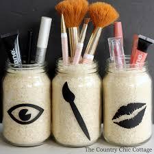 Mason Jar Bathroom Organizer Ways Of How To Use Mason Jars In The Bathroom