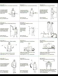 rotator cuff exercise regiment handout ot board