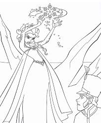 best elsa coloring pages coloring page for preschool free 806