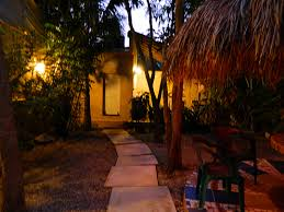 house porch at night tulum vacation house rental casa pastel retreat house tulum mexico