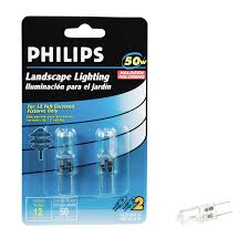 shop philips 50 watt bright white t4 halogen light fixture light
