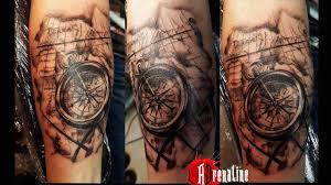 adrenaline tattoo piercing marseille anas buts boussole marine