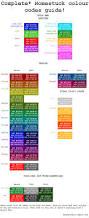 homestuck colour guide needs updating by hanadoodles on deviantart