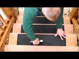 installation video rubber master stair treads youtube