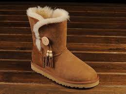 ugg sale on cyber monday ugg bailey button tassels bottes chestnut 1002153 103 61