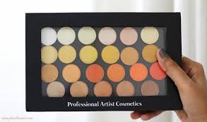 Makeup Pac pac pigmented eyeshadows all 42 shades review swatches