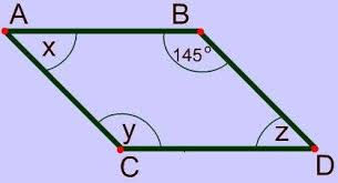 properties of parallelograms worksheet parallelograms properties shapes sides diagonals and angles