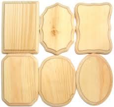 wood plaque demis wood plaques 5 x 7 in assortment 36 pieces createforless