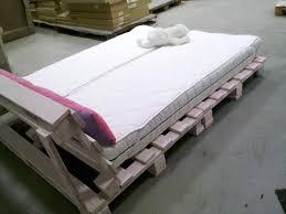 Pallet Platform Bed Pallet Platform Bed