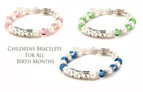 Children S Bracelets Personalized Baby And Mothers Jewelry Women U0027s Engraved And