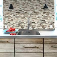 peel and stick kitchen backsplash tiles tumbled stone backsplash tile peel and stick stone tile kitchen