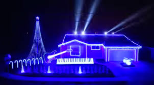 the great christmas light show epic star wars christmas light show video churchmag