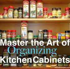 How To Organize Kitchen Cabinet by Master The Art Of Organizing Kitchen Cabinets With These 7 Tips