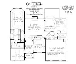 House Plans With Elevations And Floor Plans Broadberry A House Plan House Plans By Garrell Associates Inc