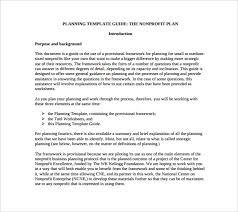 free business plan template pdf non profit business plan template 18 free word pdf documents