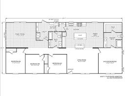 Xs Floor Plan by Sandalwood Xl 32684x Fleetwood Homes