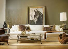 olive green interiors apartment therapy