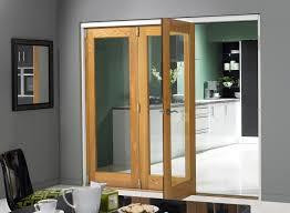 sliding glass door room dividers finesse oak 2 4m approx 8ft internal bifold doors with bottom