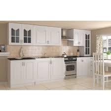 cuisine petit prix cuisine quip e compl te de 3m amandine petit prix bois blanc equipee