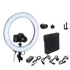 ring light for video camera camera photo video 18 rl 18 240 led ring light 5500k outer 55w