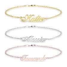 personalized name bracelet bracelet with name