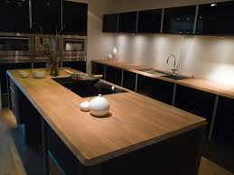 cuisine plan de travail en bois plan de travail en bois pour cuisine idée de modèle de cuisine