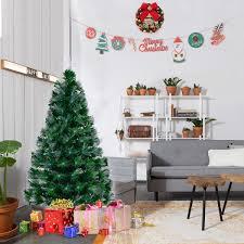 4 u0027 5 u0027 6 u0027 7 u0027 fiber artificial christmas tree w multi color