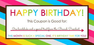 birthday coupon templates free printable best 20 birthday coupons