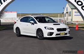 2016 subaru impreza wheels 2016 subaru wrx sti review track test video performancedrive