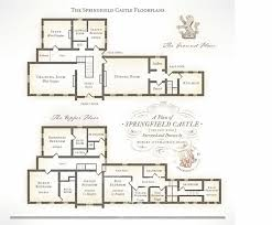 springfield castle floor plan castle accommodation layout