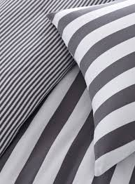 bedroom black and white striped bedding large dark hardwood