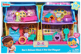 doc mcstuffins playhouse doc mcstuffins deluxe clinic pet vet house toys r us