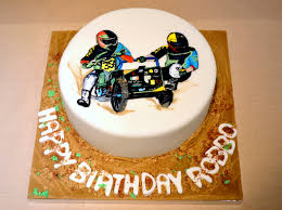 sidecar motocross racing sidecar motocross cake complete with dirt track in fondant and