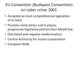 Council Of Europe Convention On Cybercrime Budapest Financial Crime And Commonwealth Jurisdictional Issues Dr