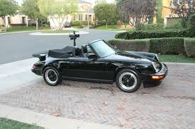 porsche whale tail for sale 1985 porsche 911 carerra cabriolet triple black 930 whale tail
