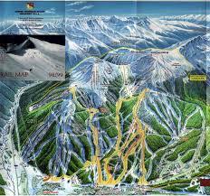 Breckenridge Colorado Map by Copper Mountain Co Ski Resort