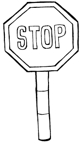 stop sign coloring page printable coloring pages