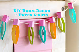 Diy For Room Decor Easy Christmas Craft Idea Paper Lights Munchkin Time Youtube