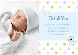 thank you card free baby boy thank you cards with photo thank you