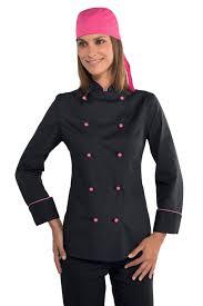 tenue de cuisine femme veste cuisine femme tissu ultra leger vestes de cuisine femme